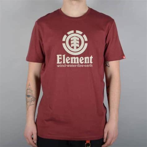 Sweater Element Skate For 2 Zalfa Clothing element skateboards vertical skate t shirt oxblood