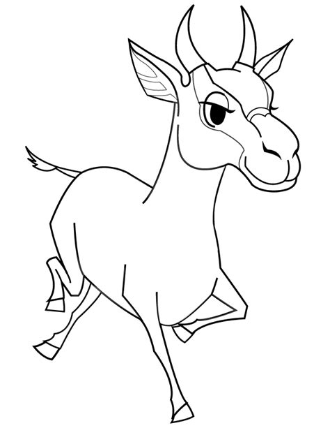 cartoon goat coloring page cartoon goat coloring page h m coloring pages