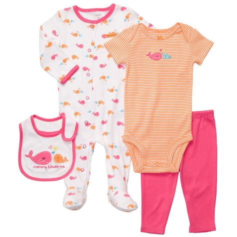 baby clothes s s world carters newborn 6 months whale sleep play gift set baby