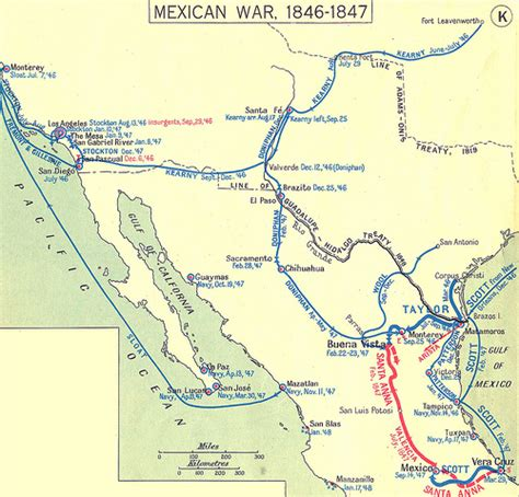 and mexican war map mexican war 1846 1847 flickr photo
