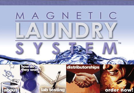 patented magnetic laundry system laundry detergent
