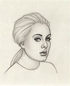 how to draw adele