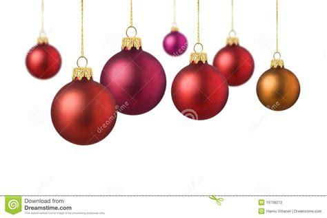 imagenes navidad bolas bolas rojas de la navidad del sat 233 n foto de archivo