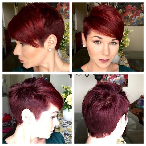 how to cut a 360 degree haircut pixie 360 hairstyles inspiration pinterest pixies