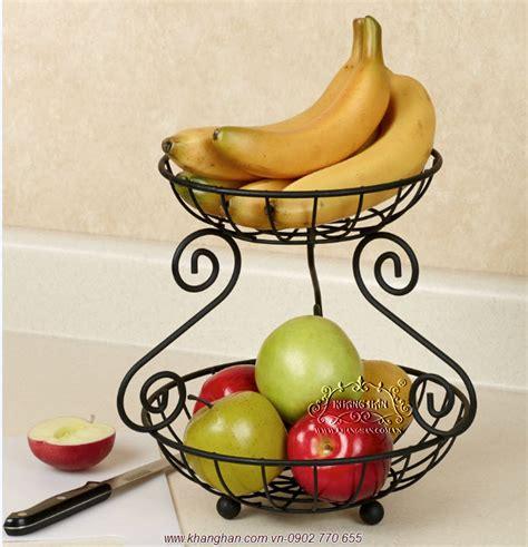 Fruit Shelf by Fruit Shelf Iron Three Storey