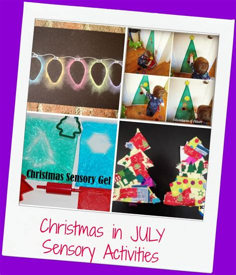 mega christmas in july theme for preschool the