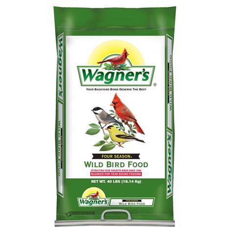 wagner s 40 lb four season bird food 25016 the