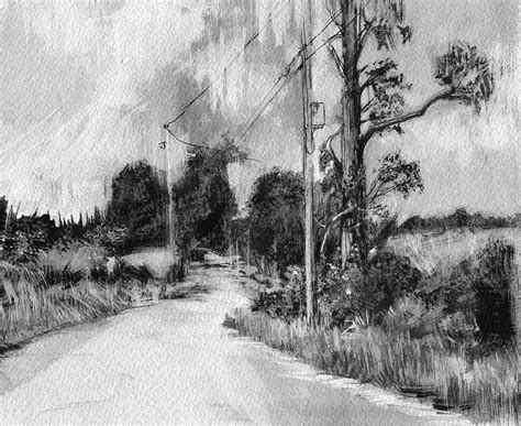 Drawing Landscapes by Landscape Drawings On Behance