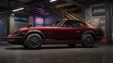 nissan fairlady 240zg need for speed payback unveils nissan fairlady 240zg car