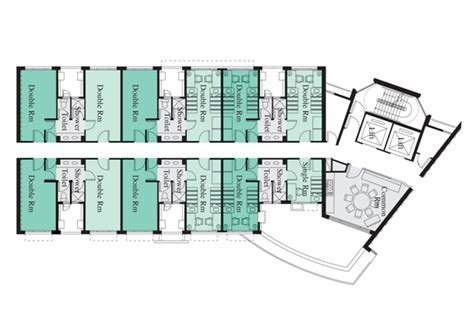 Flat Floor Plan Design by Student Residence Office City University Of Hong Kong
