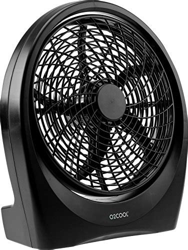 o2cool 10 inch portable fan with ac adapter o2cool fan 10 inch battery or electric operated indoor