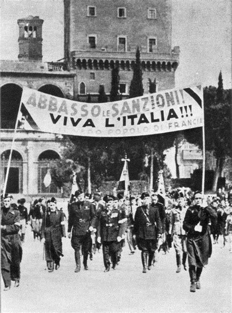 d italia sanzioni sanzioni economiche all italia fascista