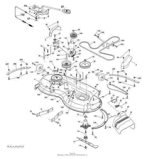 husqvarna lawn mower parts diagram husqvarna yth22v46 96043021300 2015 09 parts diagram