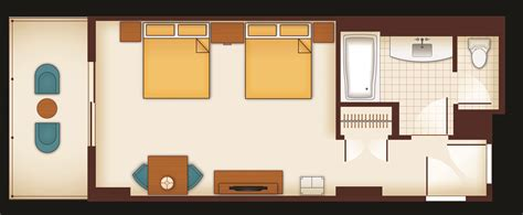 Bathroom Layout Design Tool Free by Standard Hotel Rooms Aulani Hawaii Resort Spa Floor Plan