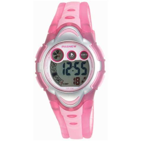 LED Waterproof Sports Digital Watch for Children Girls