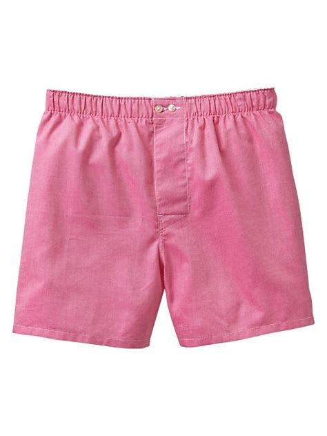 Brief Boxer Gap Size M gap solid oxford boxers in pink for shocking pink lyst