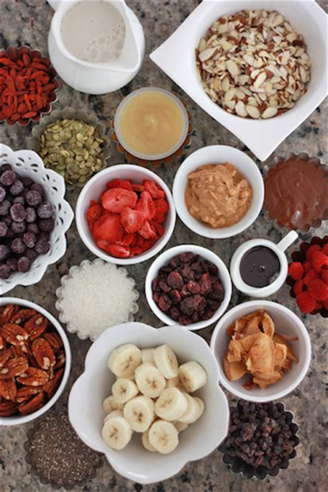 oatmeal toppings bar 7 ways to change up your morning oatmeal one lovely life