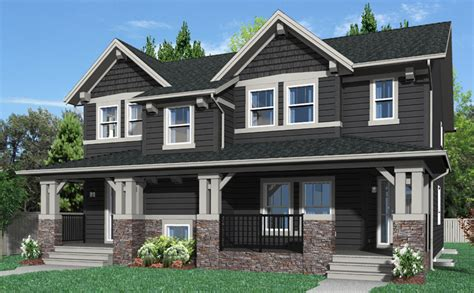 duplex homes creations by shane homes now building duplex and street
