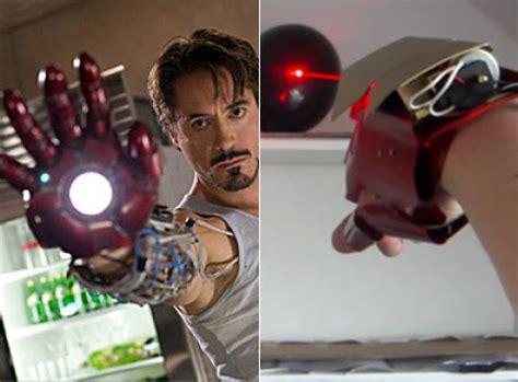 geek builds real life iron man repulsor glove fires