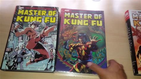 shang chi master of kung fu 1302901311 unboxing shang chi master of kung fu omnibus volume 2 youtube