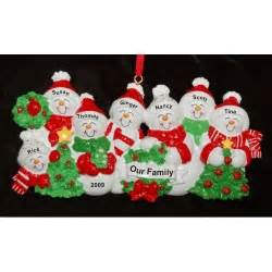 7 our christmas tree family christmas ornaments