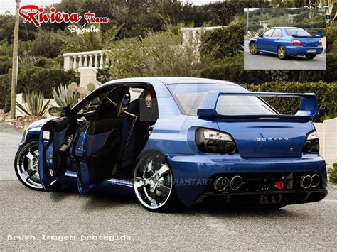 tuned subaru subaru impreza tuning by julioleite on deviantart