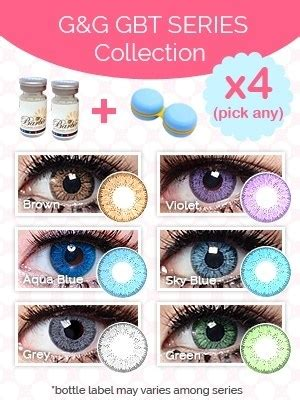 Combo Eyemazing g g gbt circle lenses series collection pinkyparadise