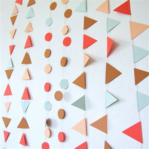 Paper Garland - inspiration banners and garlands celebrate decorate