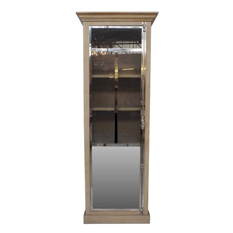 industrial style display cabinet european design industrial mirrored display cabinet