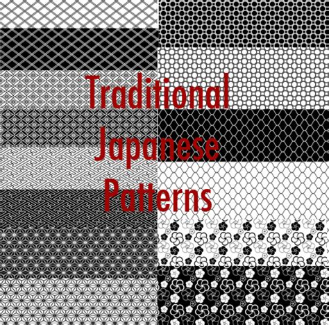 pattern photoshop japanese traditional japanese pattern by msnogood on deviantart
