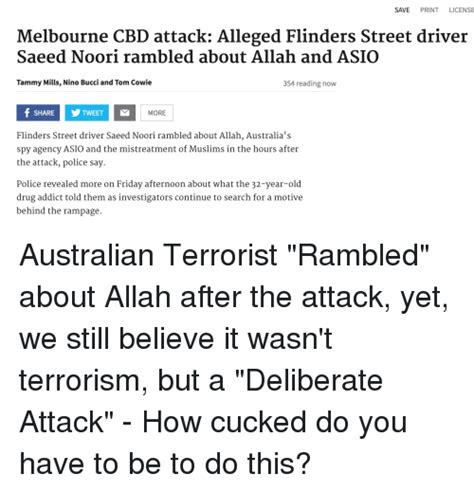 Web Addict Friday Afternoon Reads by Save Print License Melbourne Cbd Attack Alleged Flinders