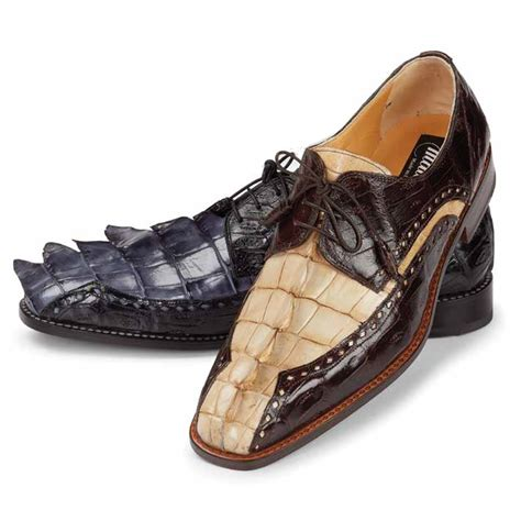 crocodile shoes mauri 4717 borsieri hornback crocodile shoes