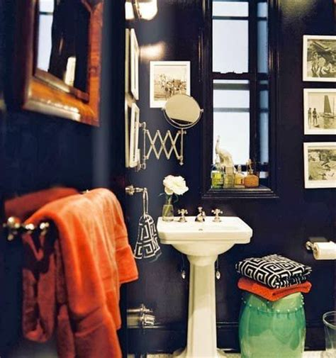Dark Blue Bathroom Ideas by 5 Of The Best Dark Amp Mysterious Bathroom Ideas The