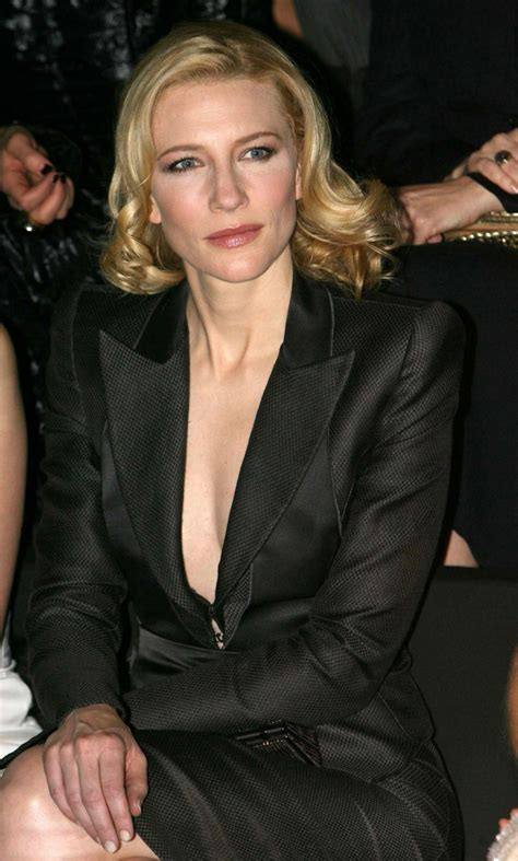 cate blanchett tattoo fashion week haute couture summer 2007