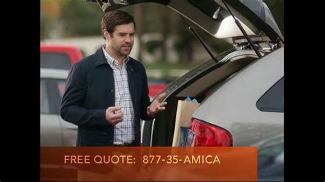 allstate commercial actress sarah amica mutual insurance company tv spot expectations