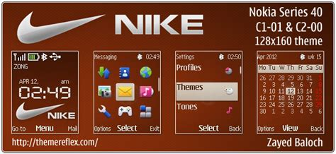 nokia 2690 model themes download nike flash lite theme for nokia c1 01 c2 00 2690 128