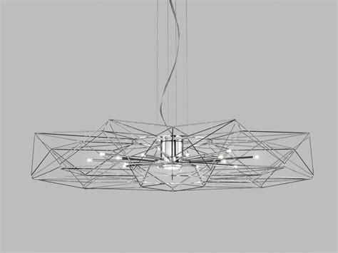 altatensione illuminazione lada a sospensione a led in metallo verniciato