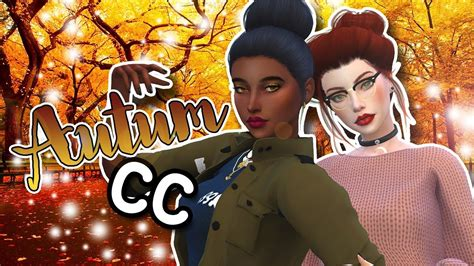 Alpha Koffee the sims 4 fall quot lookbook quot all cc links alpha