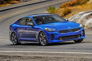 Kia Models List 2018 Kia Stinger Price List Reveals Base Model Starts At
