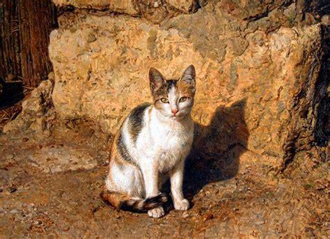 analisis de imagenes figurativas realistas pinturas cuadros lienzos galer 205 a pinturas realistas gatos