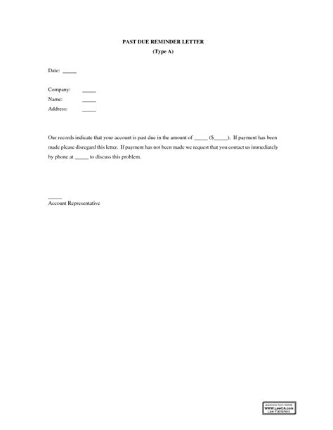 Letter Format For Payment Due Past Due Invoice Letter Template Learnhowtoloseweight Net