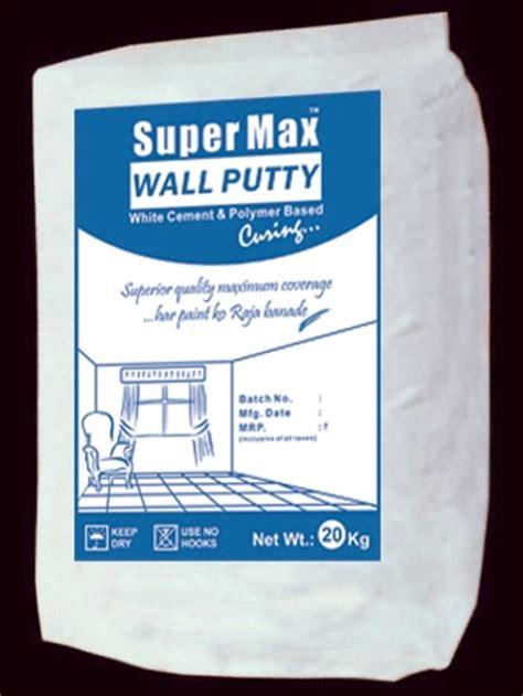 wall putty super max wall putty in mumbai maharashtra india