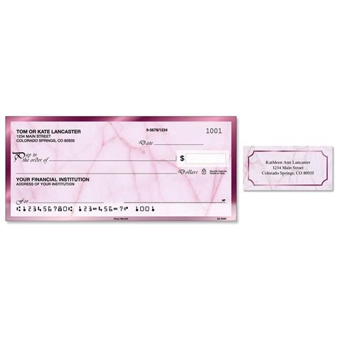 Single Background Check Marble Single Checks With Matching Address Labels Current Catalog
