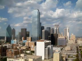 dallas skyline view from the radisson hotel