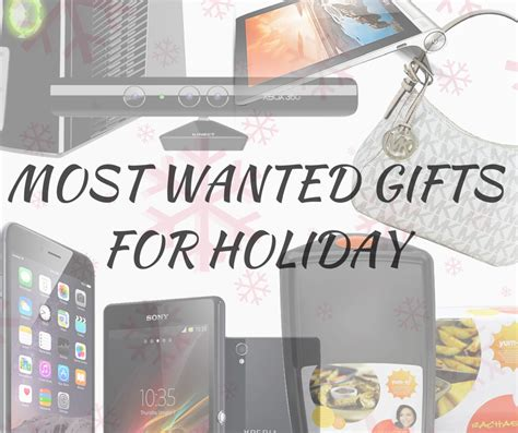 most wanted gifts for the holidays