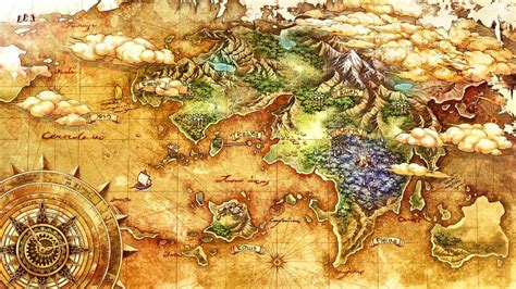game design world map world map characters art time and eternity