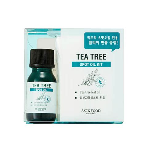 skinfood tea tree spot kit skin food spot care shopping sale koreadepart