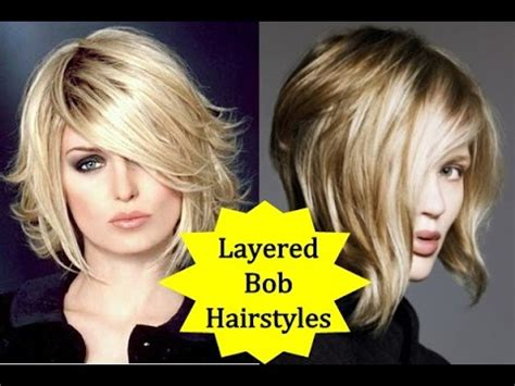 youtube bob haircuts for fine hair 20 beautiful layered bob hairstyles how to style layered