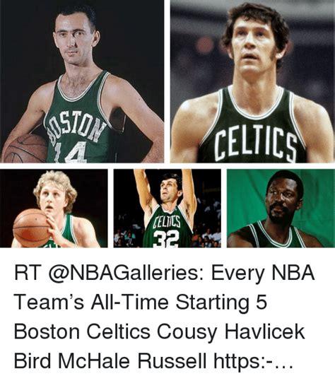 Celtics Memes - sports meme caton celtic rt every nba team s all time