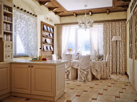 country style kitchen dining area design olpos design